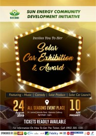 SOLAR CAR EXHIBITION AND AWARD