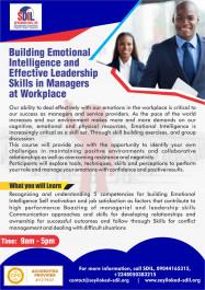 BuildingEmotionalIntelligenceandEffectiveLeadershipskillsin Managersatworkplace