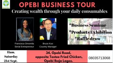 Opebi Business Tour
