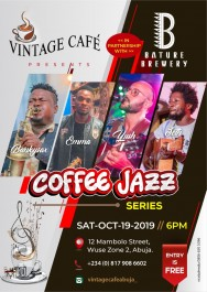 Coffee jazz series