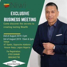 Join us at an Exclusive Business Meeting...
