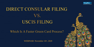 Direct Consular Filing vs. USCIS Filing: Which Is A Faster Green Card Process?