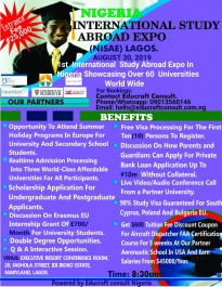 NIGERIA INTERNATIONAL STUDY ABROAD EXPO. (NISAE)