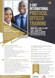 International Protocol Officer Training
