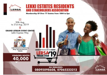 Lekki Estates Residents and Stakeholders Association Trade Fair 2019