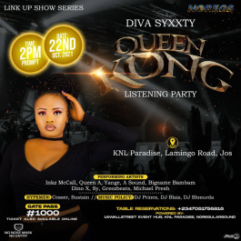 Diva Syxxty Queen Kong Album Listening Party