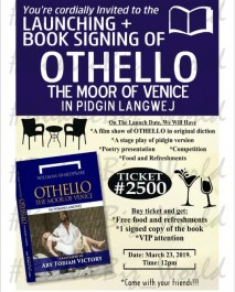 Launching of Othello The Moor of Venice...