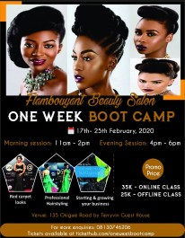One week  Boot camp
