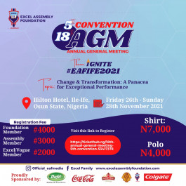 18th Annual General Meeting/5th Convention