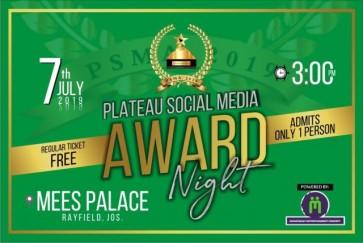 PLATEAU SOCIAL MEDIA AWARDS